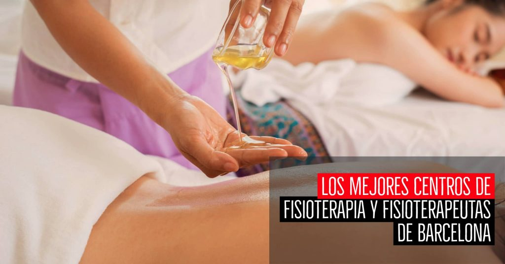 Mejores centros fisioterapia fisioterapeutas Barcelona