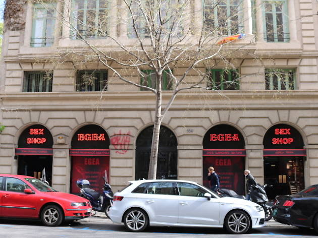 Sex shop cabinas Barcelona