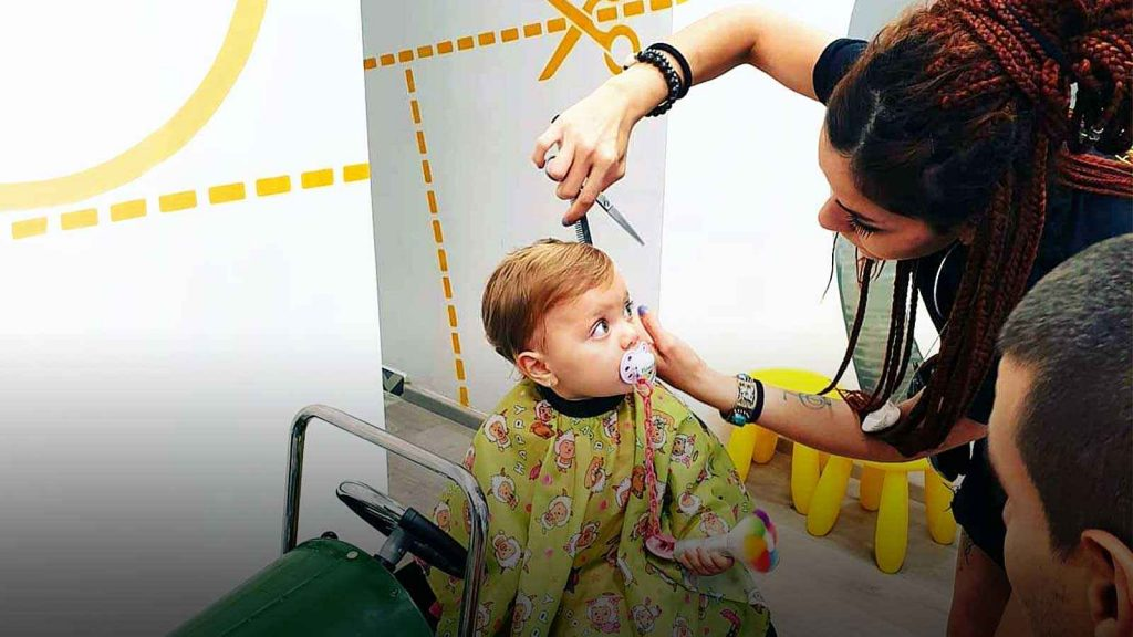 Corte de pelo bebés Barcelona
