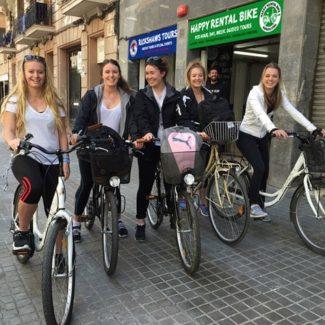 Alquiler bicicletas dobles Barcelona